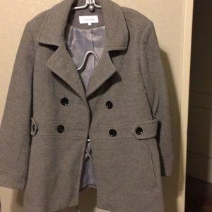 Calvin Klein pea coat size 12